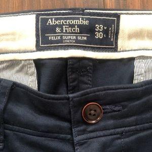 Abercrombie & Fitch Men's Felix Super Skinny 33x30
